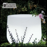"22"" Dia. x 31""H  Argento Lighted Planter"