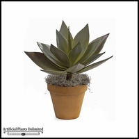 "23"" Nat Touch Agave Plant - Green 