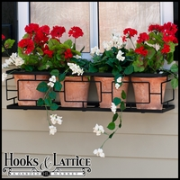 72in. Contemporary Window Box Cage