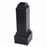 """24"""" H x 8 .5"""" W Square Base, for 4""""x4"""" square post"""