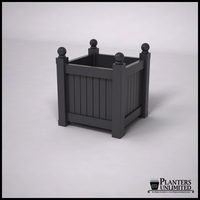 Versailles Premier Composite Commercial Planter 24in.L x 24in.W x 24in.H
