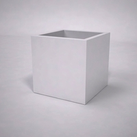 Urban Chic Premier Contemporary Planter 24in.L x 24in.W x 24in.H