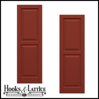 24in. Wide - Classic Collection Two Equal Raised Panel Shutters (pair)