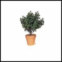 "26"" Large Outdoor Rated Artificial Dark Boxwood"