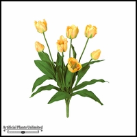28in. Tulip Bush - Yellow|Indoor - NFR