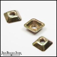 3-Pack Square Tapered Nut (Choose from 3 Sizes)