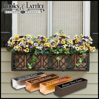 "30"" Alexandria Aluminum Window Box"