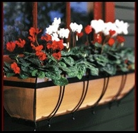 30in. Copper Classic Window Box