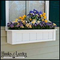 "30"" Coronado Premier Window Box w/ *Easy Up* Cleat Mounting System"