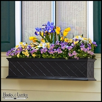 30in. La Fleur Fiberglass Window Box