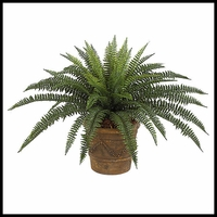 "30"" Outdoor Rated Artificial Boston Fern"