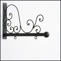 "30"" Tuscany Scroll Blade Sign Bracket"