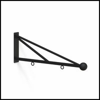 30in. Triangle Truss Hanging Sign Bracket