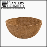 30in. XL in.Megain. Hanging Basket Replacement Liner - Coco Coir