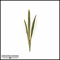 34in. Sansevieria Bush - Green/Yellow|Indoor
