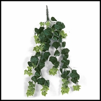 36in. Artificial Outdoor English Ivy with 9 Vines