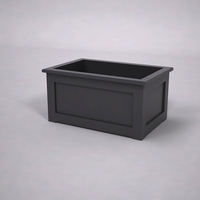 Flat Panel Premier Composite Commercial Planter 36in.L x 24in.W x 18in.H