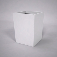 Urban Chic Tapered Premier Composite Commercial Planter 36in.L x 36in.W x 48in.H