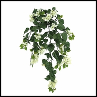 "36"" Outdoor Artificial Bougainvillea- Cream"