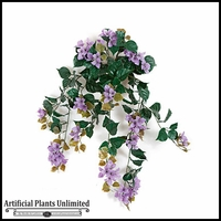 "36"" Outdoor Artificial Bougainvillea - Purple"