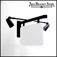 "36"" Palisades Lighted Sign Bracket Kit  (Everything Included)"