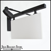 "36"" Palisades w/ Square Corner Sign Blank Kit (everything included)"