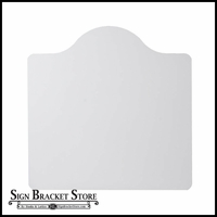 "36"" x 36"" Mission Style Sign Blank"
