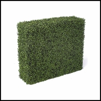 36in.L x 12in.W Indoor Artificial Boxwood Hedge