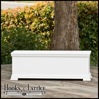 36in. Laguna Premier Deck Planter w/ Feet 12in. W x 12in. H