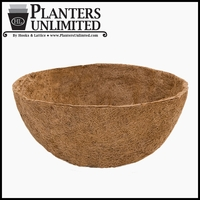 36in. XL in.Megain. Hanging Basket Replacement Liner - Coco Coir
