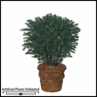 "37"" Outdoor Artificial Taxus Yew"
