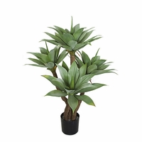 4' Artificial Outdoor Rated Succulent Tree