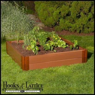 "4'x4'x12"" Raised Garden featuring Composite Lumber"