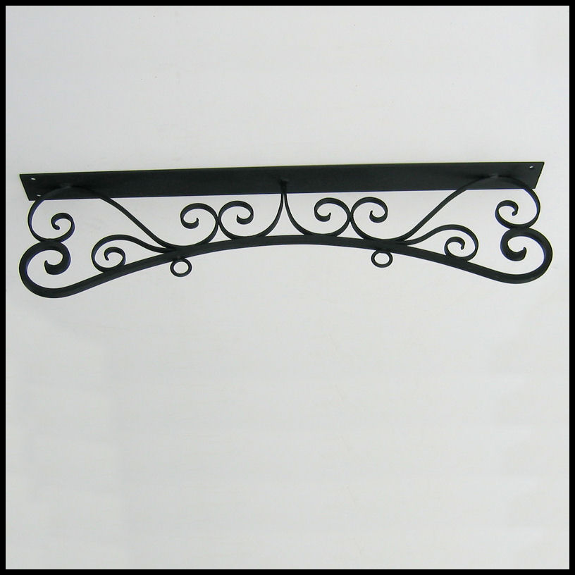 Parisian Ceiling Mount Sign Bracket
