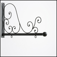"40"" Tuscany Scroll Hanging Blade Sign Bracket"