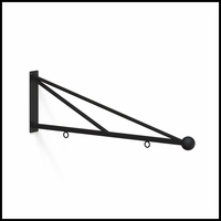40in. Triangle Truss Hanging Sign Bracket