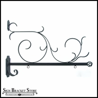42in. Scroll Bavarian Blade Sign Bracket