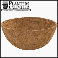 "42in. XL ""Mega"" Hanging Basket Replacement Liner - Coco Coir"
