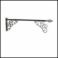 "46"" Aventine Lower Scroll Sign Bracket"