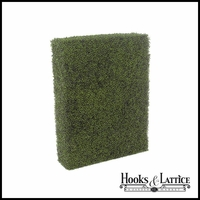 "48""L x 12""D Outdoor Artificial Boxwood Hedge"