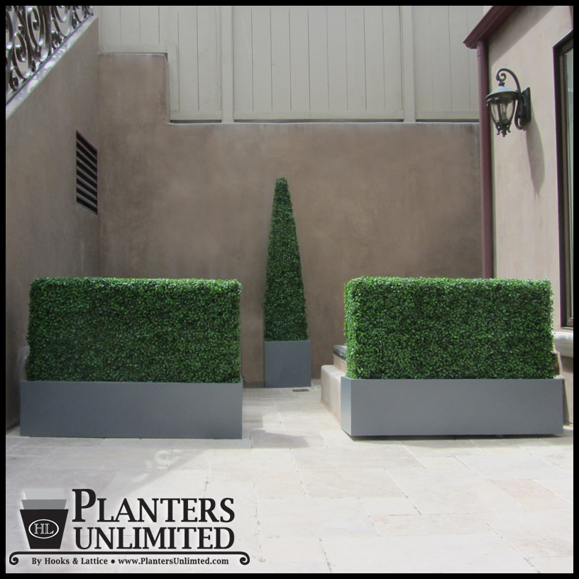 Boxwood Outdoor Artificial Hedge 48in L X 12in W