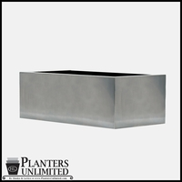 Stainless Steel Commercial Planter 48in.L x 18in.W x 18in.H