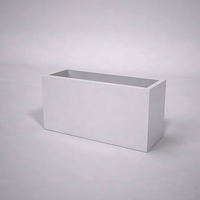 Urban Chic Premier Contemporary Planter 48in.L x 18in.W x 24in.H