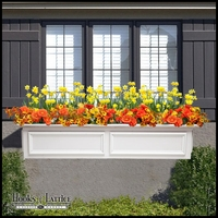 48in. XL Panel Premier Window Box w/ *Easy Up* Cleat Mounting System