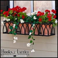 48in. Arch Window Box Cage