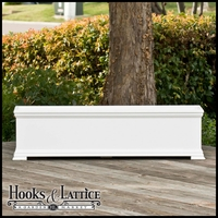48in. Laguna Premier Deck Planter w/ Feet 12in. W x 12in. H