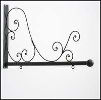 "50"" Tuscany Scroll Hanging Blade Sign Bracket"