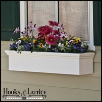 "54"" Newport Premier Direct Mount Flower Box"
