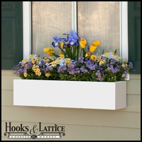 "54""  Urban Chic Premier Direct Mount Window Box Planter"