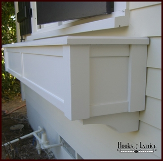 "54"" XL Hampton Premier Window Box w/ *Easy Up* Cleat Mounting System"